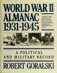 World War II Almanac, 1931-1945: A Political and Military Record