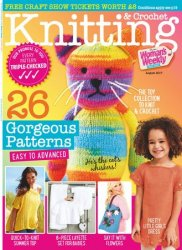 Knitting & Crochet from Woman's Weekly - August 2017