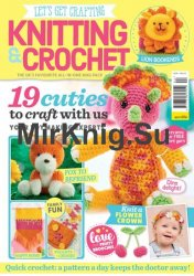 Let's Get Crafting Knitting & Crochet №92 2017