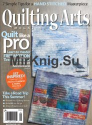 Quilting Arts Magazine - August-September 2017