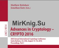 Advances in Cryptology - CRYPTO (1-3 books)