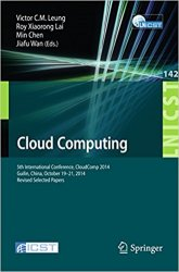 Cloud Computing: 5th International Conference, CloudComp 2014