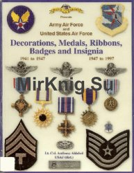 Army Air Force and United States Air Force Decorations, Medals, Ribbons, Badges and Insignia