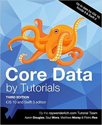 Core Data by Tutorials Third Edition: iOS 10 and Swift 3 edition (+code)
