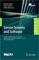 Sensor Systems and Software: 7th International Conference, S-Cube 2016