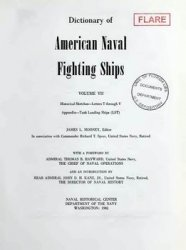 Dictionary of American Naval Fighting Ships vol VII