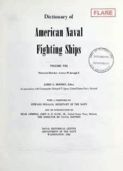 Dictionary of American Naval Fighting Ships vol VIII