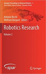 Robotics Research: Volume 2