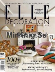 Elle Decoration South Africa - August 2017