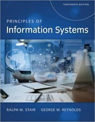 Principles of Information Systems, 13th Edition