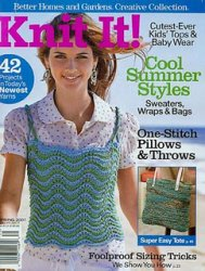 Knit It! - Spring 2007 Better Homes & Gardens Collection Cool Summer Styles