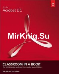 Adobe Acrobat DC Classroom in a Book, Second Edition