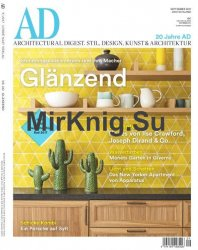 AD / Architectural Digest Germany - September 2017