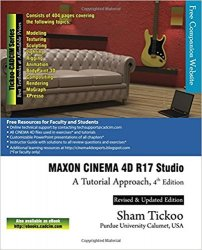 MAXON CINEMA 4D R17 Studio: A Tutorial Approach, 4th Edition