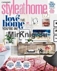 Style at Home Canada - October 2017