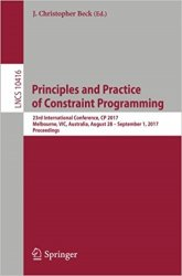 Principles and Practice of Constraint Programming: 23rd International Conference, CP 2017