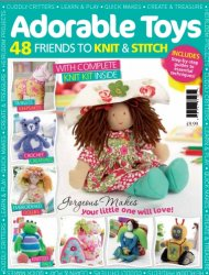 Adorable Toys: 48 Friends To Knit & Stitch