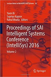Proceedings of SAI Intelligent Systems Conference (IntelliSys) 2016: Volume 2