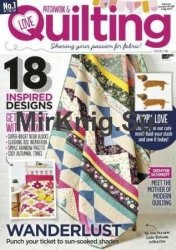 Love Patchwork & Quilting №52 2017
