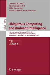 Ubiquitous Computing and Ambient Intelligence: 10th International Conference, UCAmI 2016, Part 2