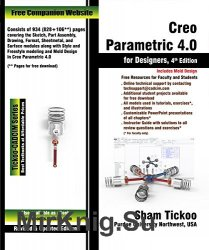 Creo Parametric 4.0 for Designers, 4th Edition