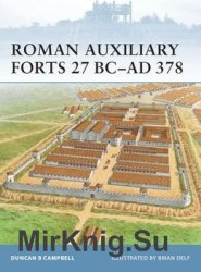Roman Auxiliary Forts 27 BC-AD 378 (Osprey Fortress 83)