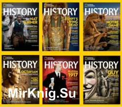 National Geographic History - 2017 Full Year Issues Collection