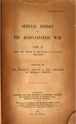 The Official history of the Russo-Japanese war. Vol. 2