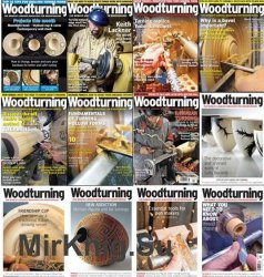Woodturning -  2017 Full Year Issues Collection