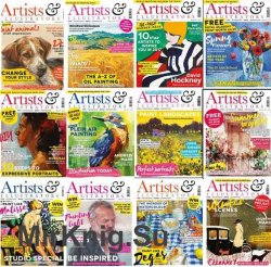 Artists & Illustrators - 2017 Full Year Issues Collection