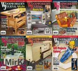 Woodworker's Journal - 2017 Full Year Issues Collection