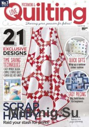 Love Patchwork & Quilting №54 2017