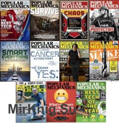 Popular Mechanics USA - 2017 Full Year Issues Collection