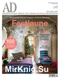 AD Architectural Digest Germany №1 2018
