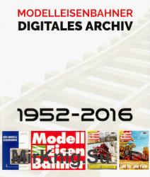 Modelleisenbahner Digitales Archiv 1952-2016
