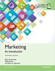 Marketing: An Introduction, Global Edition, 13th edition