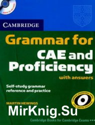 Cambridge Grammar for CAE and Proficiency with answers and Audio CD's