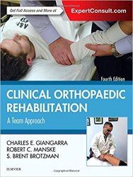Clinical Orthopaedic Rehabilitation: A Team Approach, 4th Edition