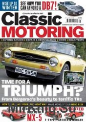 Classic Motoring - January 2018