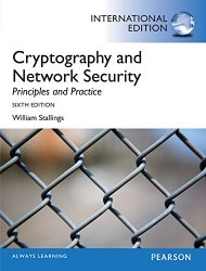 Cryptography and Network Security: Principles and Practice, International Edition, 6 edition