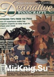 A Better Homes and Garden Decorative Woodcrafts April 1994