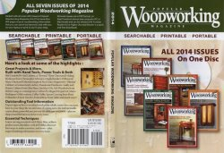 Popular Woodworking 2014 CD-ROM