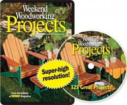Weekend Woodworking Projects: 352 Great Projects CD