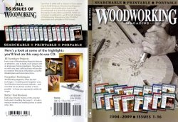 Woodworking Magazine 2004-2009 CD