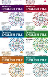 American English File, Second edition, From Starter to Level 5