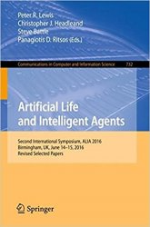Artificial Life and Intelligent Agents: Second International Symposium, ALIA 2016
