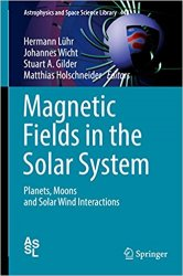 Magnetic Fields in the Solar System: Planets, Moons and Solar Wind Interactions