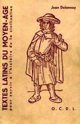 Хрестоматия средневековых латинских текстов