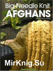 Big-Needle Knit Afghans