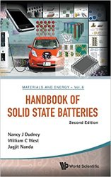 Handbook Of Solid State Batteries, Second Edition